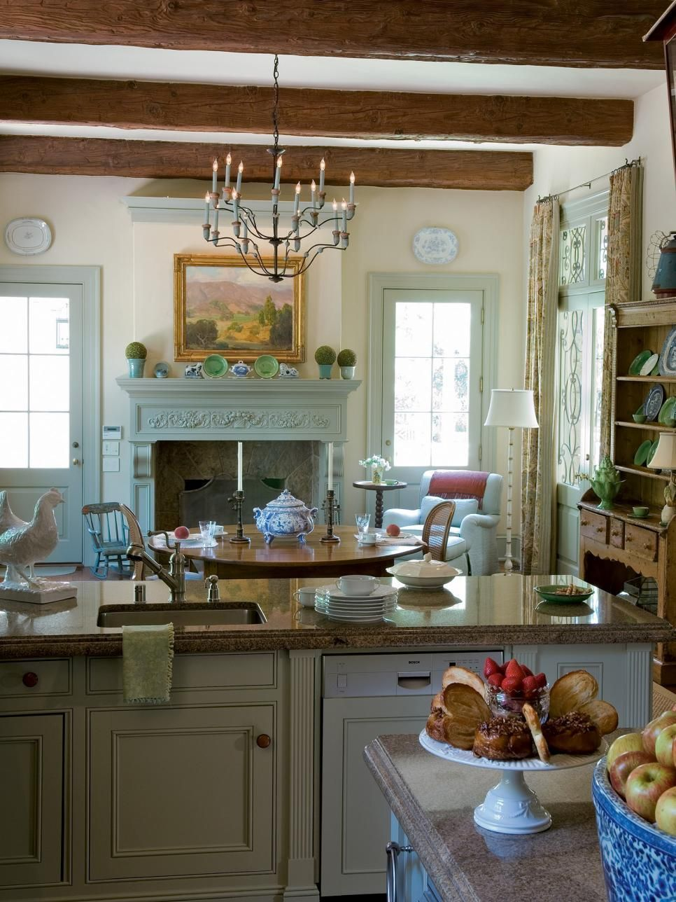 GroBartig Rather Than Completely Remodeling The Kitchen, It Was Revitalized With  Unifying French Gray On The