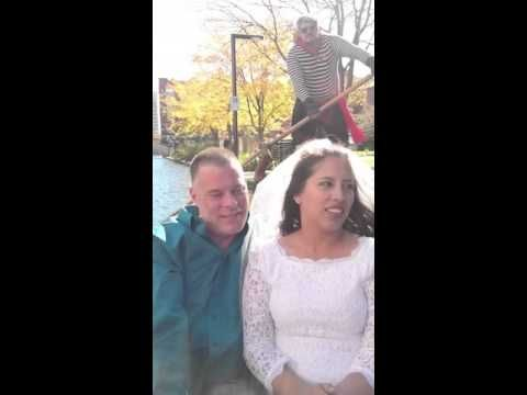 Elopement In Indianapolis At The Canal