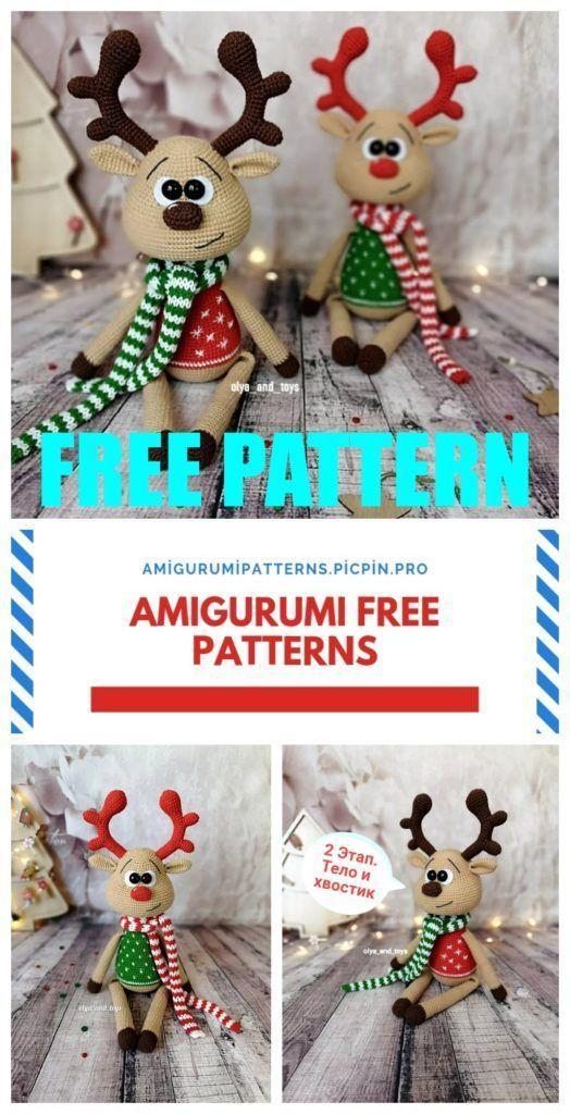 Diese kostenlose Anleitung zeigt dir, wie du ein freches Amigurumi ... | 1024x524