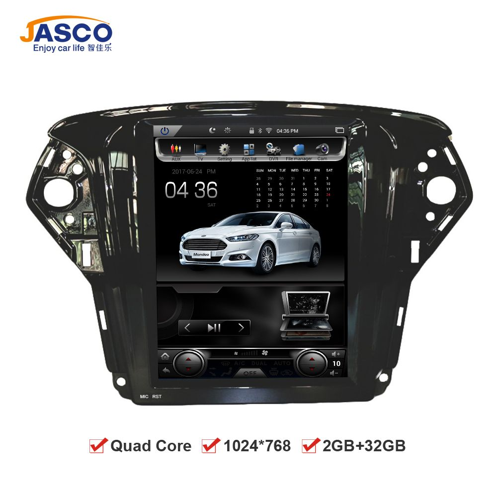 10 4 Vertical Screen 1024 768 Android Car Dvd Gps Navigation Radio Player For Ford Mondeo 2009 2010 2011 Ram 2gb 32g Quad Cor Radio Player Gps Navigation Gps
