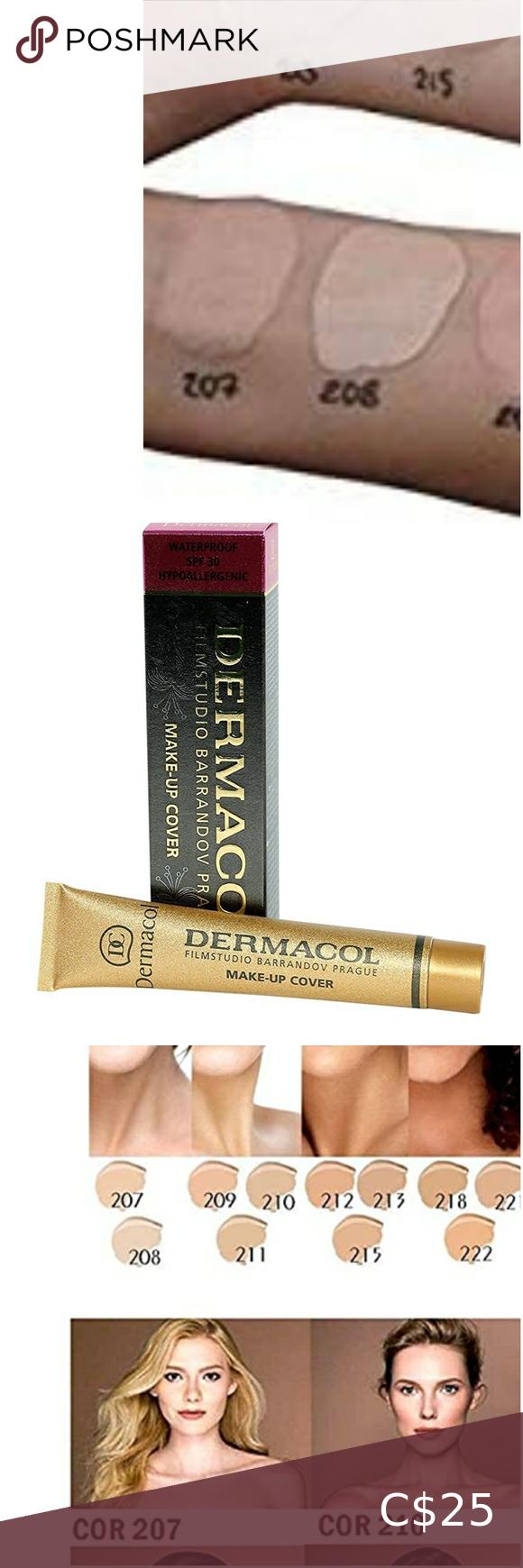 2 NEW dermacol makeup cover foundation in 2020 Concealer