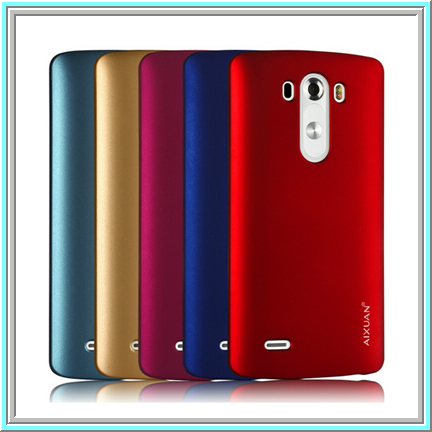 LG G3 - Rich Jewel Tones Flexible Case in Assorted Colors