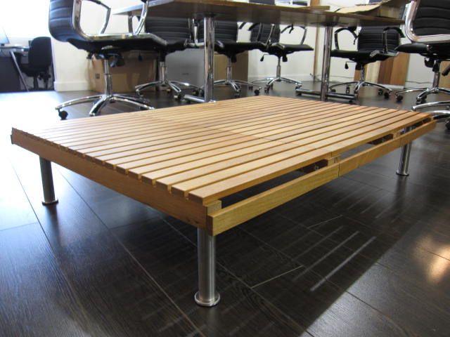 IKEA Hackers: Modern Slat Coffee Table