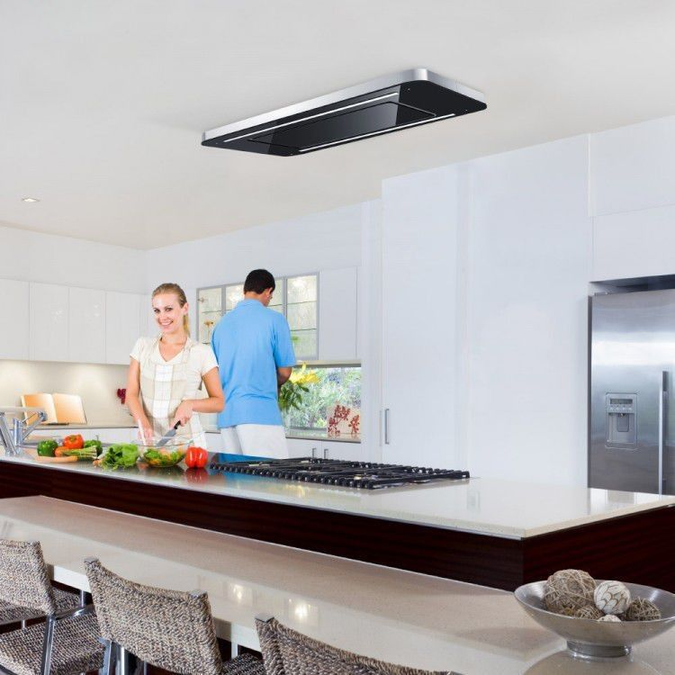 ceiling mounted cooker hood ceiling