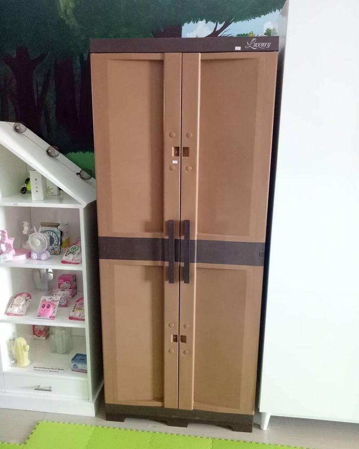 Luxury 2 door plastic wardrobe Price Rp. 1,450,000 …- Lema…