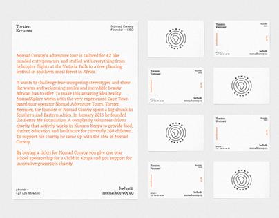 Nomad Convoy Identity And Web Design Web Design Layout Design Graphic Design