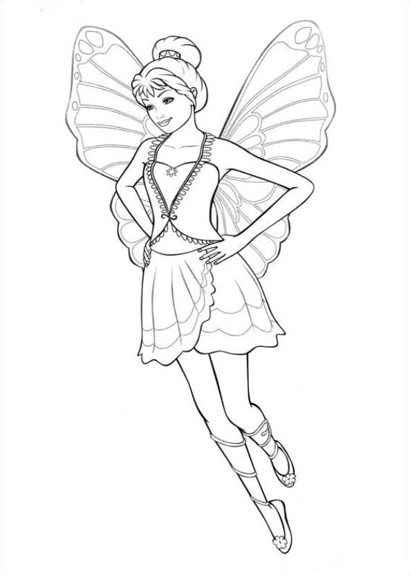 12 Coloring Pages Of Barbi Mariposa On Kids N Funcouk Fun You Will Always Find The Best First