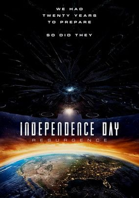 Independence Day: Resurgence Jeff Goldblum, Bill Pullman & Liam Hemsworth Twenty years after the initial invasion of Earth by an army of advanced extraterrestrials, the same foes attack again with redoubled force, forcing humankind to construct defenses cobbled from alien technology left behind after the original attack.