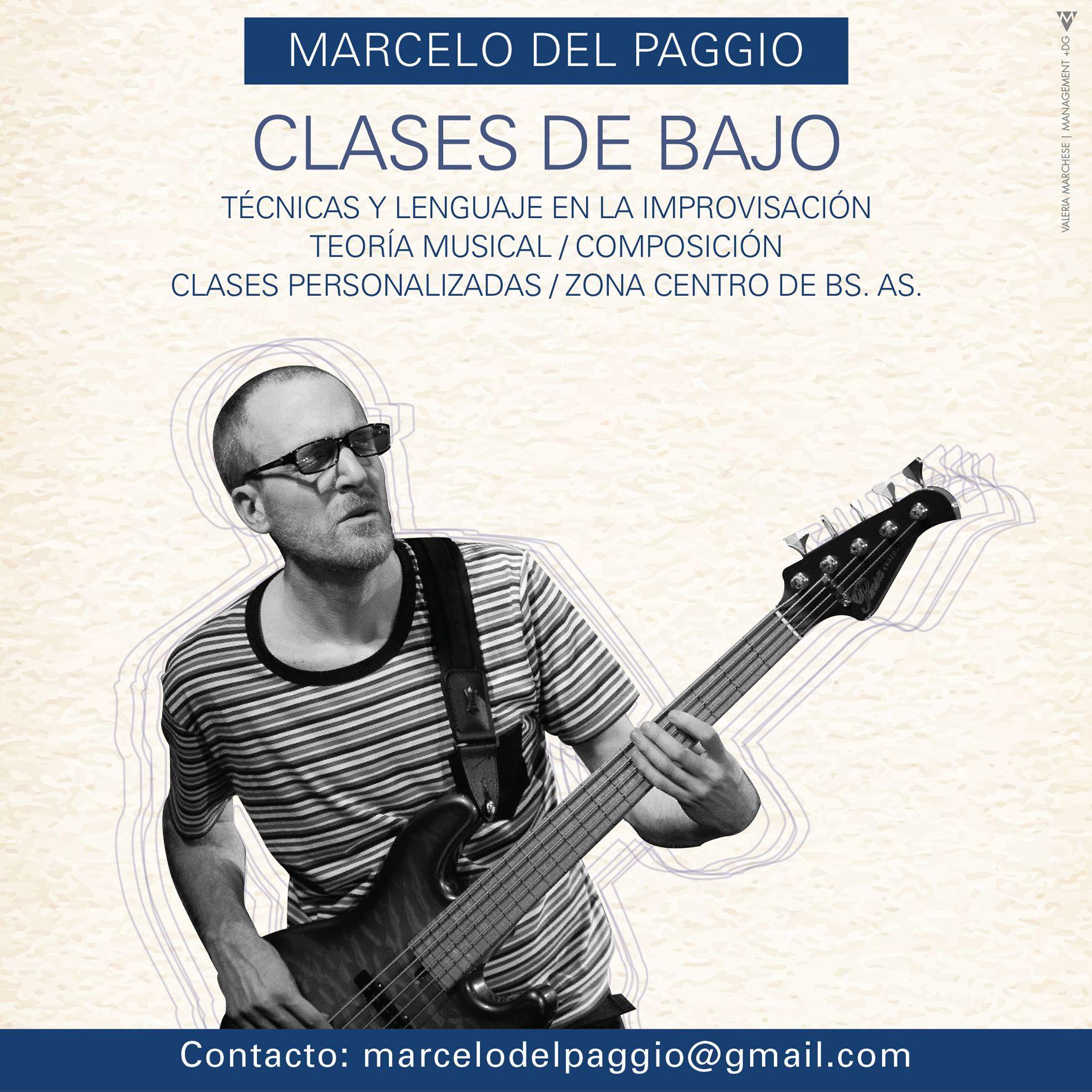 Marcelo Del Paggio Diseño Flyer / Octubre 2015