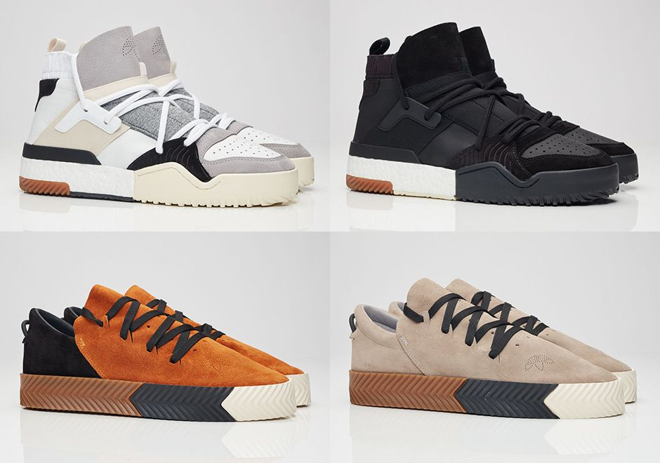 Alexander Wang Suede Adidas Originals By Aw Basketball Shoes