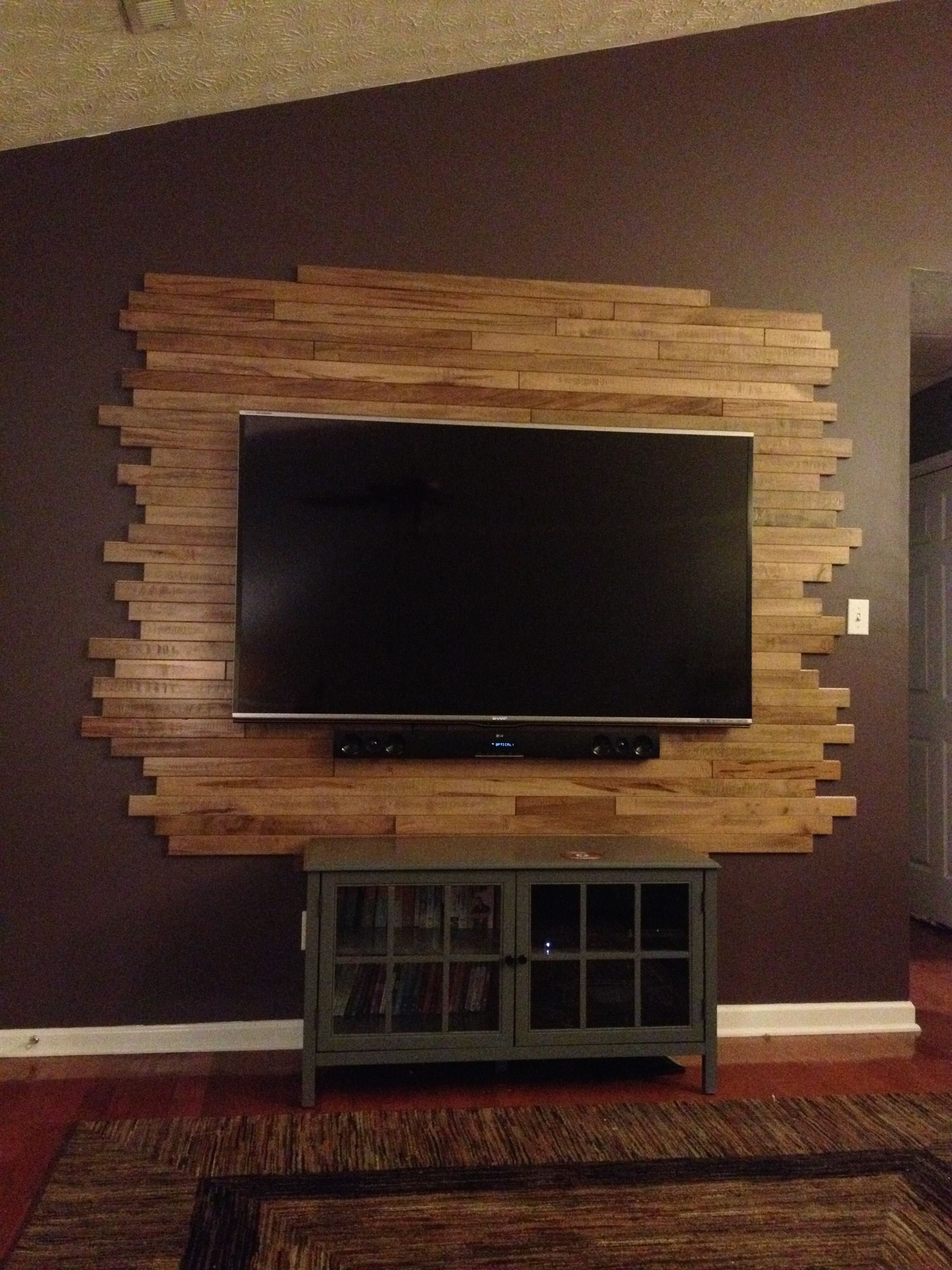 Wood Wall Behind Tv 14 Modern Tv Wall Mount Ideas For Your Best Room Pallet Wood