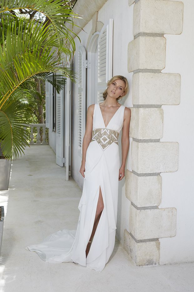 Amanda Wakeley Althea Wedding Dress From The Sposa Mustique Collection