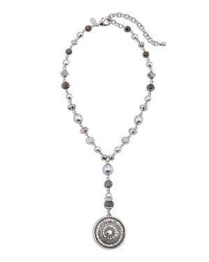 Jillian Gray Pendant Necklace