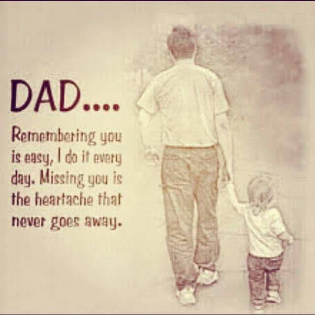 To you Dad. As Fathers Day approaches, I find myself missing you more than usual. If only Facebook had a link to heaven. Happy Fathers Day Dad. I miss you.