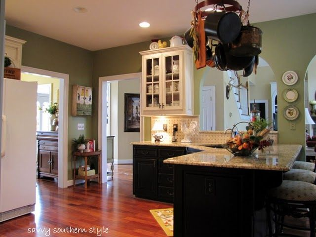 Black island with white cabinets.//savvysouthernstyle.blogspot ... on kitchen lighting ideas, kitchen layout ideas, kitchen remodels for small kitchens, kitchen remodeling, kitchen remodel product, kitchen ideas with white cabinets, kitchen remodel blog, kitchen design ideas, kitchen renovations, kitchen remodel retailer, kitchen accessories, kitchen colors for 2015, kitchen islands with seating, kitchen islands made out of dressers, kitchen cooking island ideas, kitchen remodels before and after, kitchen remodel with pass through, kitchen remodel design, kitchen cabinet remodle, kitchen plans,