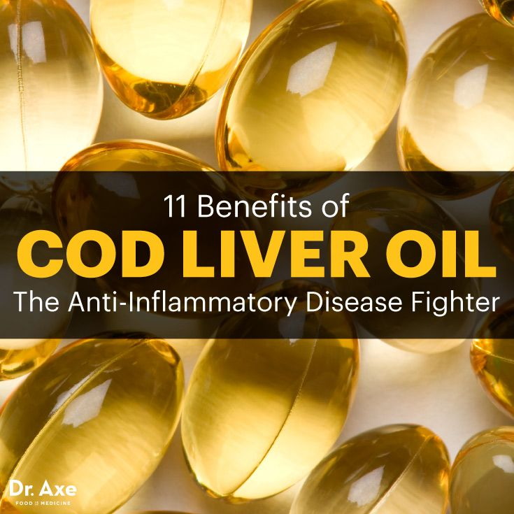11 Benefits of Cod Liver Oil: The Anti-Inflammatory