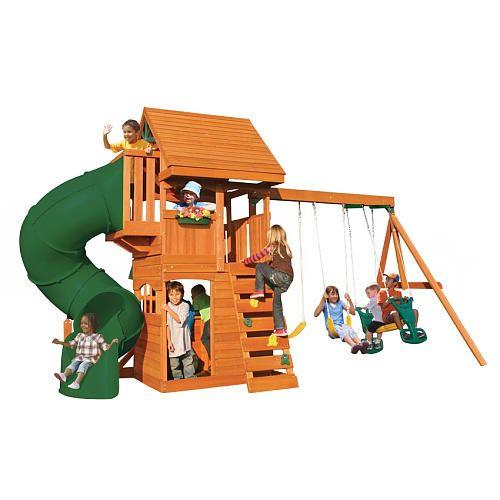 "Berkley Wood Gym Set - Big Backyard - Toys ""R"" Us | Wooden ..."
