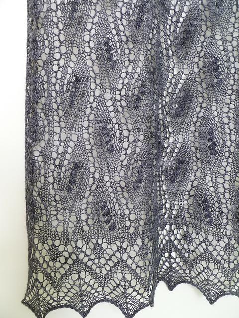 Ravelry: Estonian Waterfall Shawl pattern by Cath Ward in ...