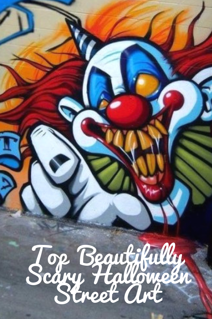 Scary graffiti monsters and freaky murals to enrich your halloween