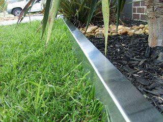 Choose The Steel Landscape Edging Garden Edging Ideas Steel Edging Landscape Landscape Edging Steel Garden Edging