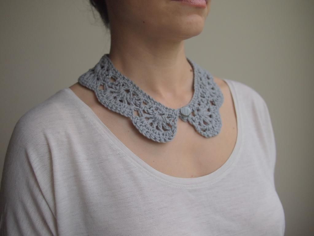 Peter Pan Crochet Collar Pattern On Craftsy Com Colgantes A Crochet Cuellos Crochet Cosas A Crochet