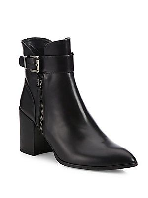 Stuart Weitzman Laptop Leather Ankle Boots high quality online clearance big sale mArNKKPc