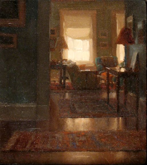 Jacob Collins, Interior, Oil on Canvas, http://www.johnpence.com/visuals/painters/collins/images/interior.jpg