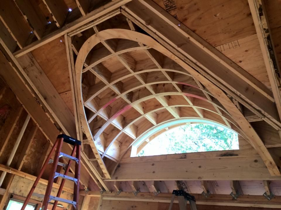 No It S Not Timber Frame But What A Piece Of Carpentry Timber Frame Construction Craftsman House Plans Roof Design