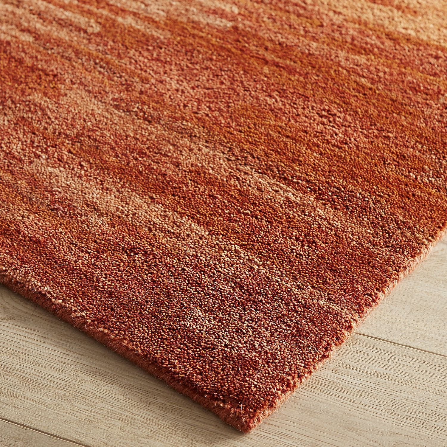 Lincoln Spice 8x10 Wool Rug Orange