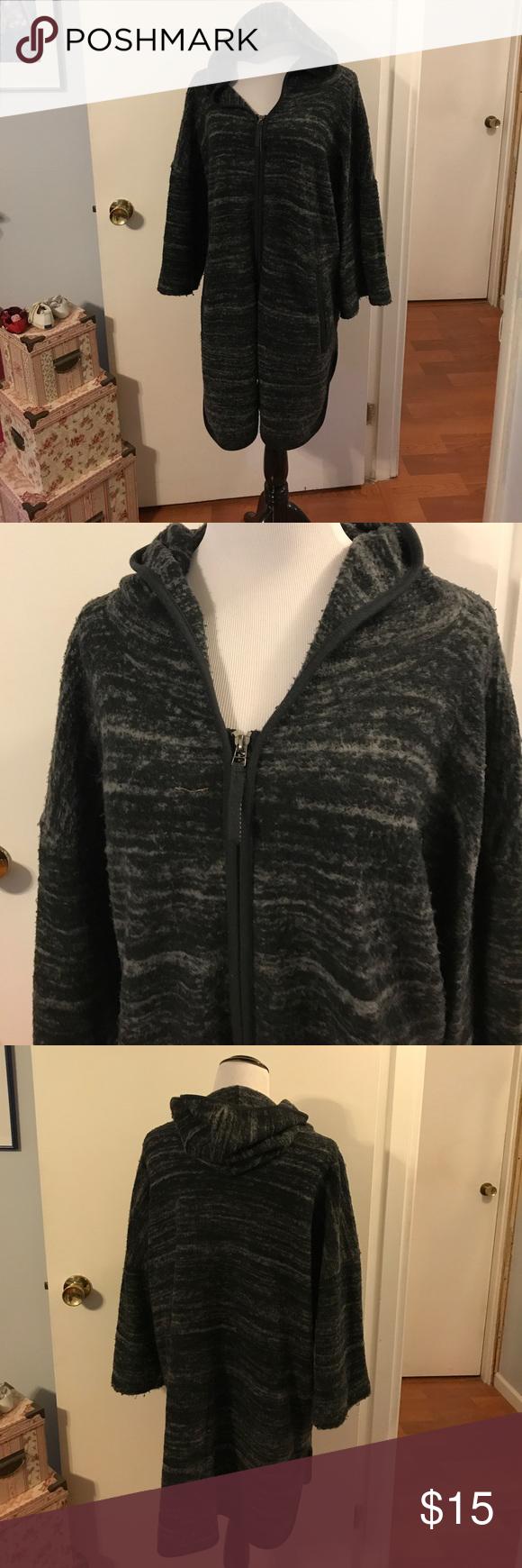 Simply Vera Vera wang fleece sweater coat | Coats, Sweater coats ...
