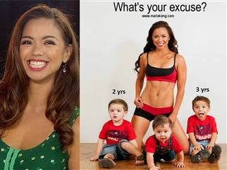 'I just make it a priority': Fit mom in viral photo speaks out