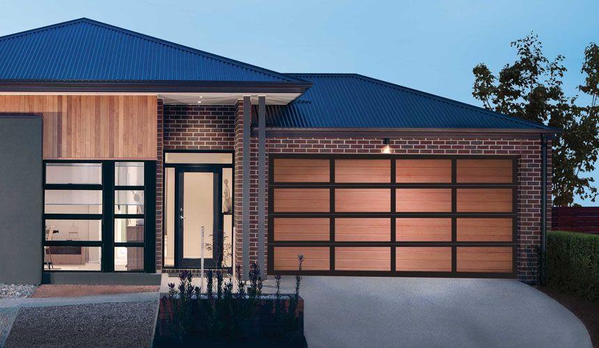 Steel line inspirations garage door aluminium frame with for Western garage