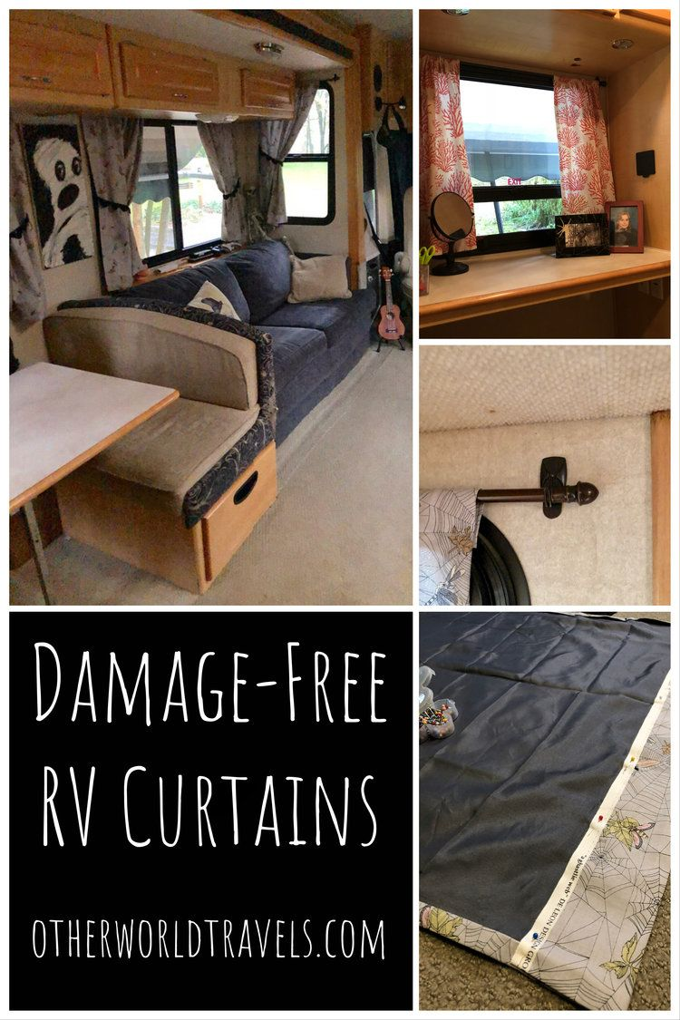 Damage Free Rv Curtains Stacaravan Kamperen Camping
