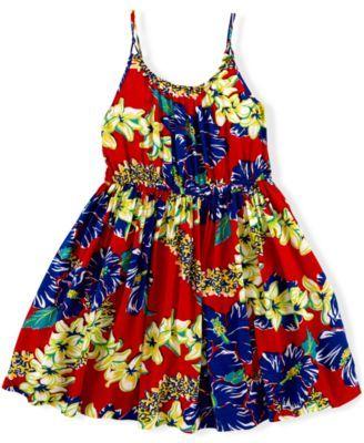 Ralph Lauren Little Girls' Hawaiian Dress | 4th of July ...