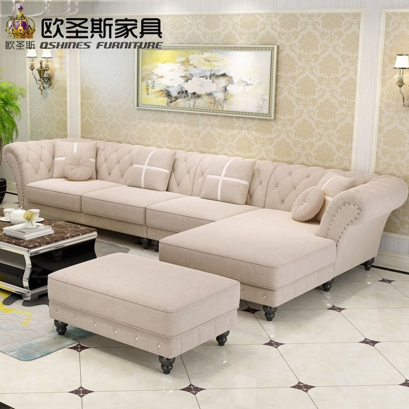 Luxury L Shaped Sectional Livingroom Furniutre Antique Europe Design Classical Corner Wooden In 2020 Living Room Sofa Design Corner Sofa Design Modern Sofa Living Room