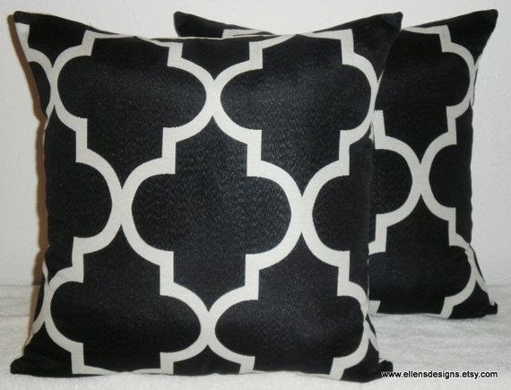 DecorativeAccentThrowSet of Two Pillow Covers 18 by EllensDesigns, $64.00