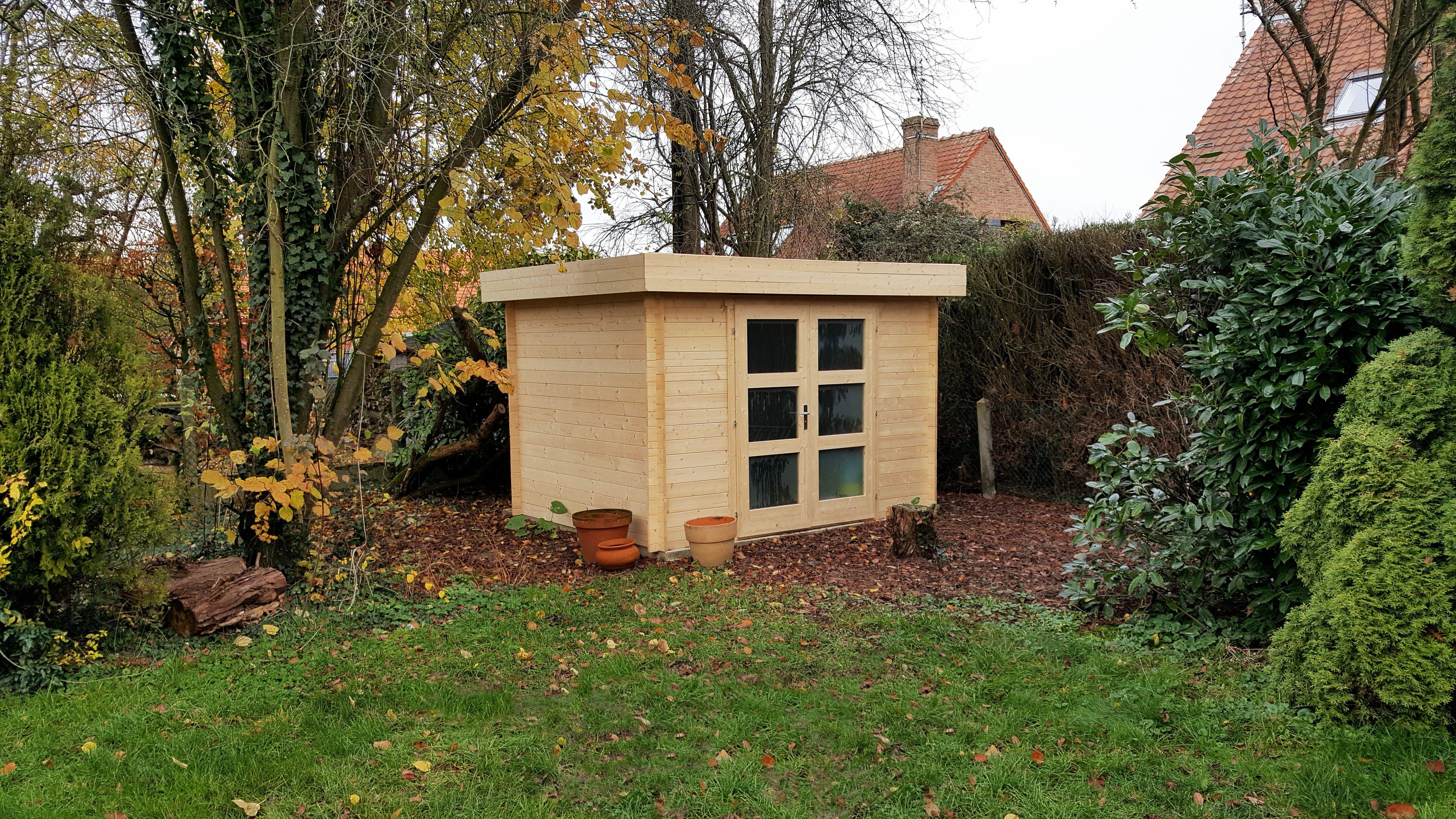 Abri De Jardin Welland 7 28mm Abri De Jardin Jardin Contemporain Cabane Jardin