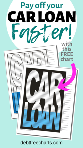 Pay Off Your Car Loan Faster By Staying Motivated With This Free Printable Car Loan Payoff Chart Carloanpayoff Ca Paying Off Car Loan Car Loans Loan Payoff