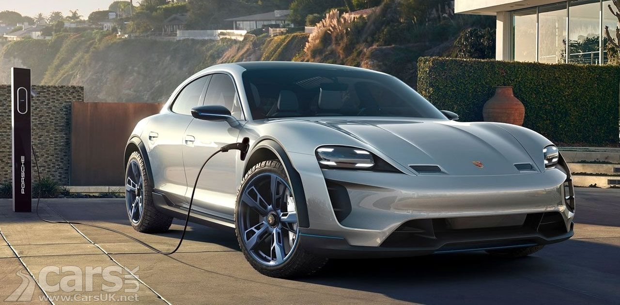 Waiting for the ELECTRIC Porsche Taycan Cross Turismo to