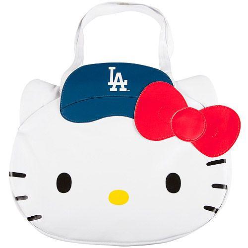 Los Angeles Dodgers Hello Kitty Tote Bag - MLB com Shop