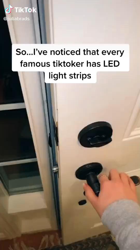 Led Strip Light W Remote Control Video Video In 2021 Strip Lighting Led Strip Lighting Led