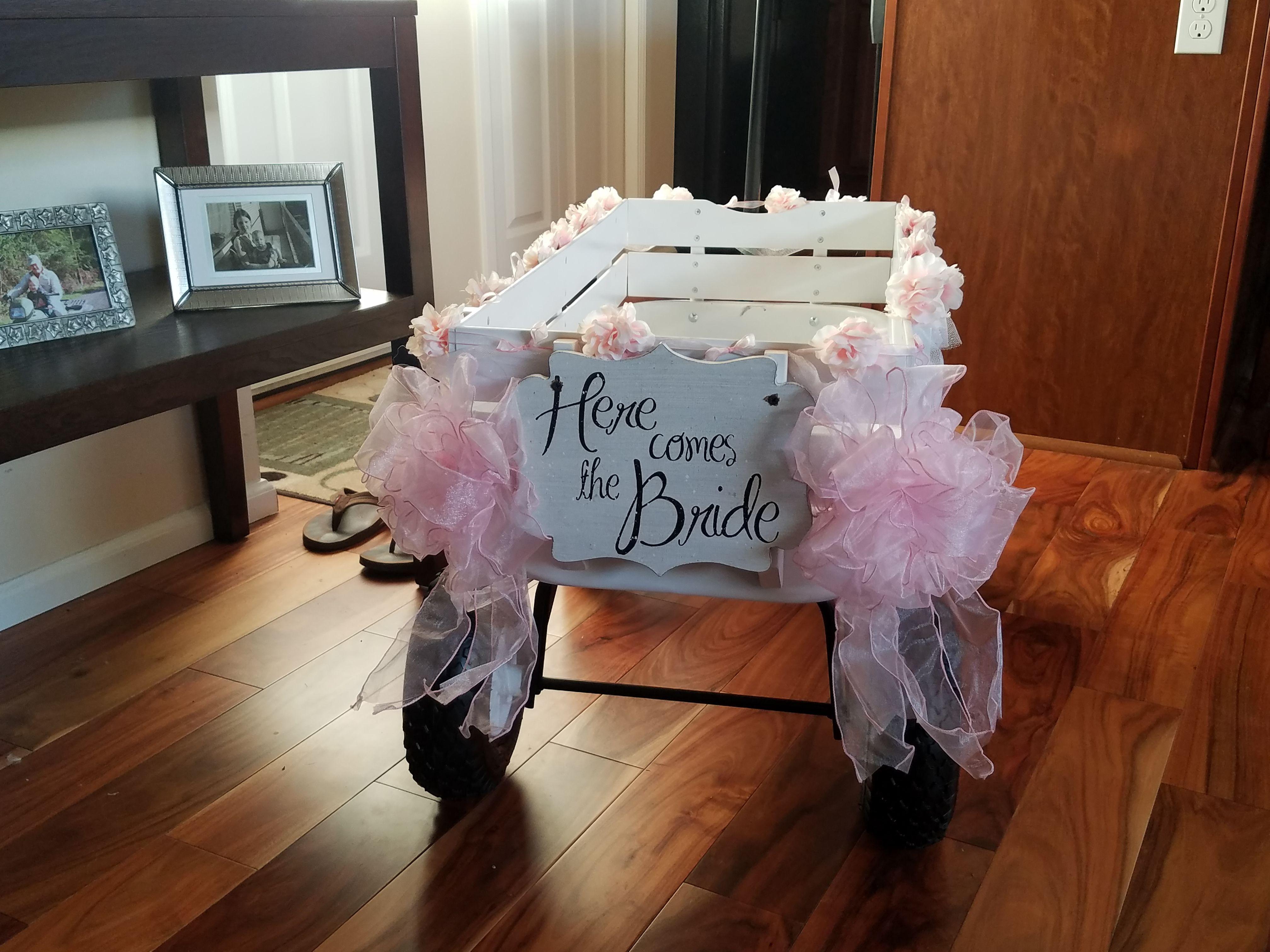 Pin by dadsrule babiesdrool on diy kids wagon for a wedding pinterest