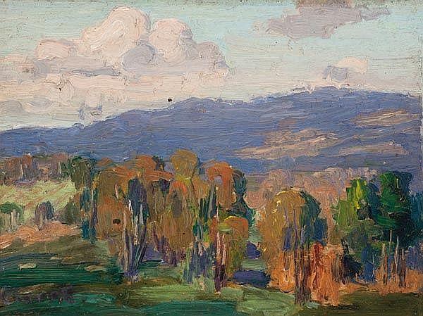 Ethel Carrick Fox - Landscape