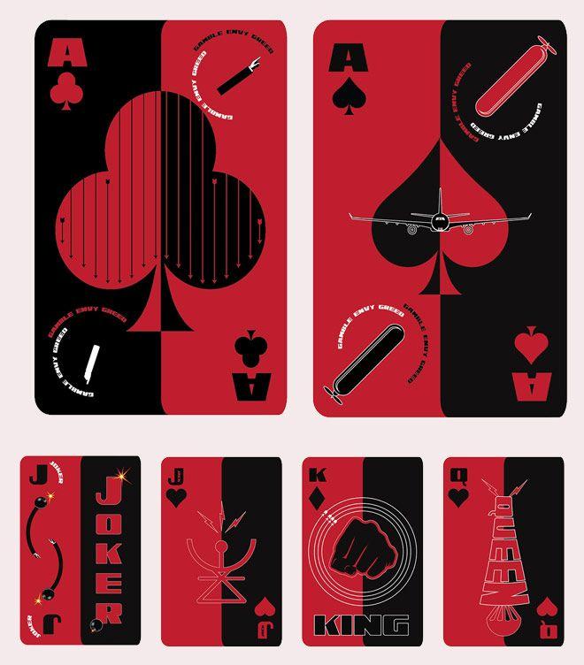 Barajas de cartas para seguir jugando   Singular Graphic Design
