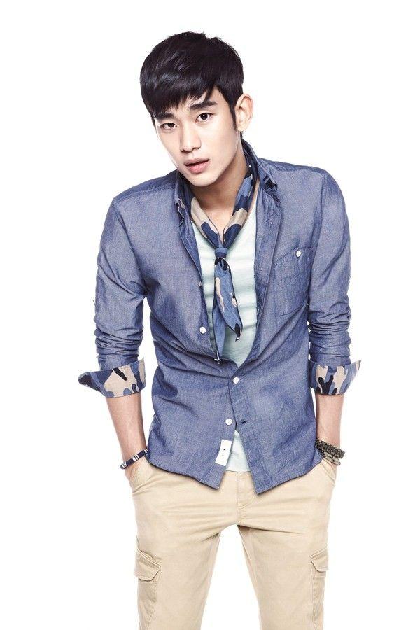 Kim Soo Hyun #blue #hues