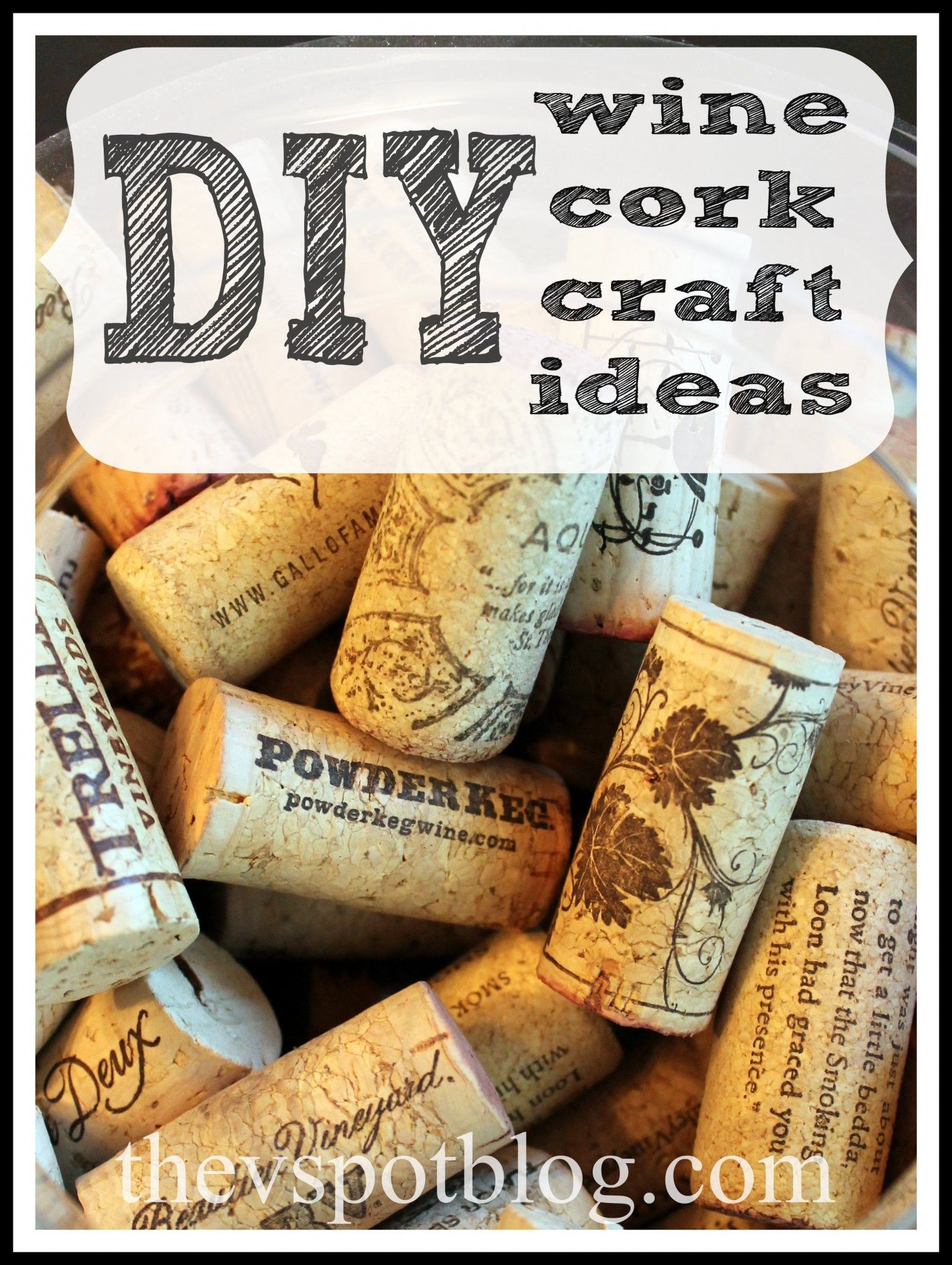 Diy wine cork crafts crafts diy craft projects and love for Wine cork ideas projects
