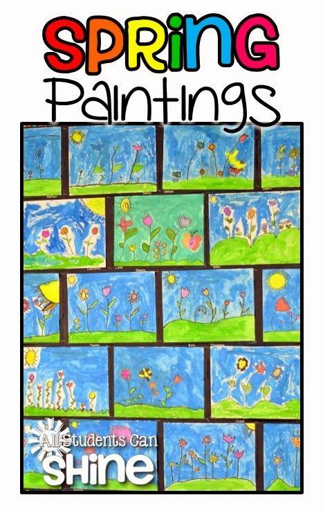 Bright Ideas Spring Art Projects Child Art Ideas Spring Art