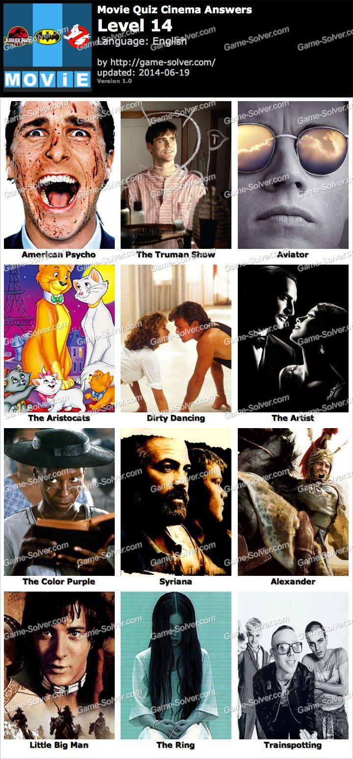 Movie Quiz Cinema Level 14 | Movie quiz | The truman show