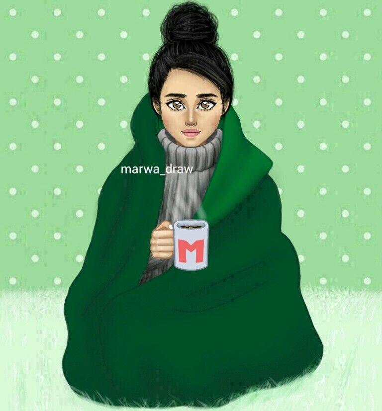 Marwa Draw Girly M Girly Art Girl Humor