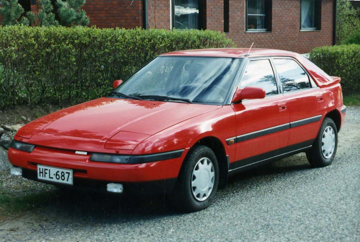 Mazda 323 | Mazda | Pinterest | Mazda, Cars and Dream cars